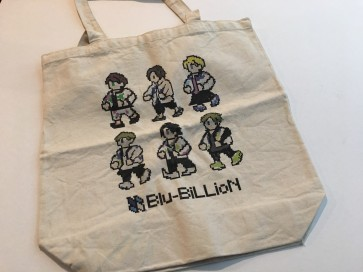 Blu-BiLLioN - 8-bit eco bag