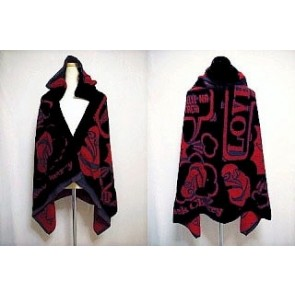 Acid Black Cherry - Hooded FC towel