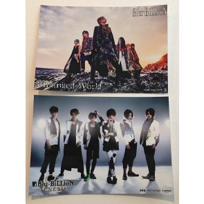Blu-BiLLioN - Photocard set 1