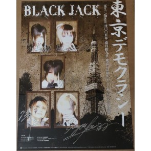 BLACK JACK - 東京デモクラシー poster (SIGNED)