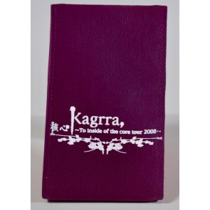 Kagrra, - To inside of the core 2008 tri-fold mirror (Red)