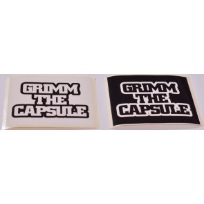 GRIMM THE CAPSULE - Sticker Sheets