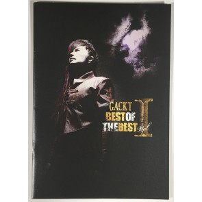 GACKT - BEST OF THE BEST Vol. 1 tourbook