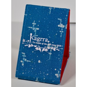 Kagrra, - To inside of the core 2008 tri-fold mirror (Blue)