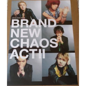 LUNA SEA - Brand New Chaos Act II poster