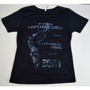Black Gene For the Next Scene - Greek Mythology shirt (size M)