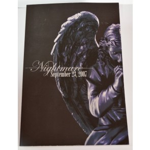 NIGHTMARE - SPECIALLIVE 2007 the Five Stars Night tour pamphlet